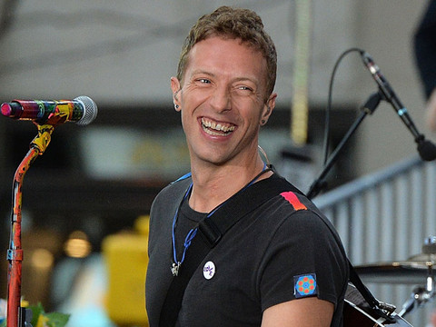 Chris Martin Surprises Son on 10th Birthday -- Brings Moses on Stage In Peru!