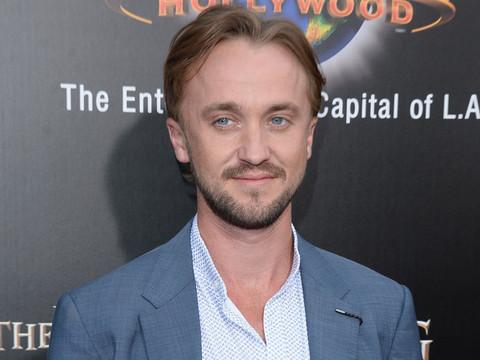 Tom Felton Attends Wizarding World Of Harry Potter Opening -- Who Else Showed?