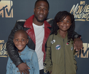 Hosts Kevin Hart & The Rock Are Doting Dads at the 2016 MTV Movie Awards --…