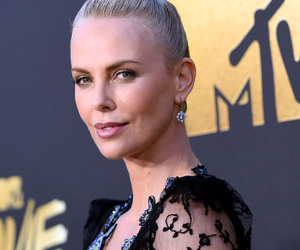 "Charlize Theron Thanks Her ""Own Little Furiosa,"" Daughter August, During MTV…"