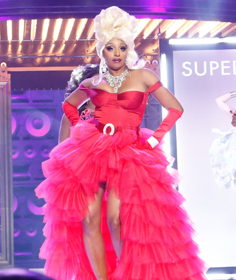 "NeNe Leakes Does ""Drag"" as RuPaul for ""Lip Sync"" Battle -- See Sneak Peek!"