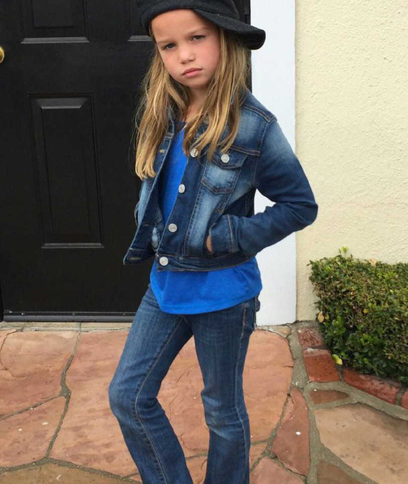 Rebecca Romijn's Daughter Is a Model in the Making -- Check Out That Badass…