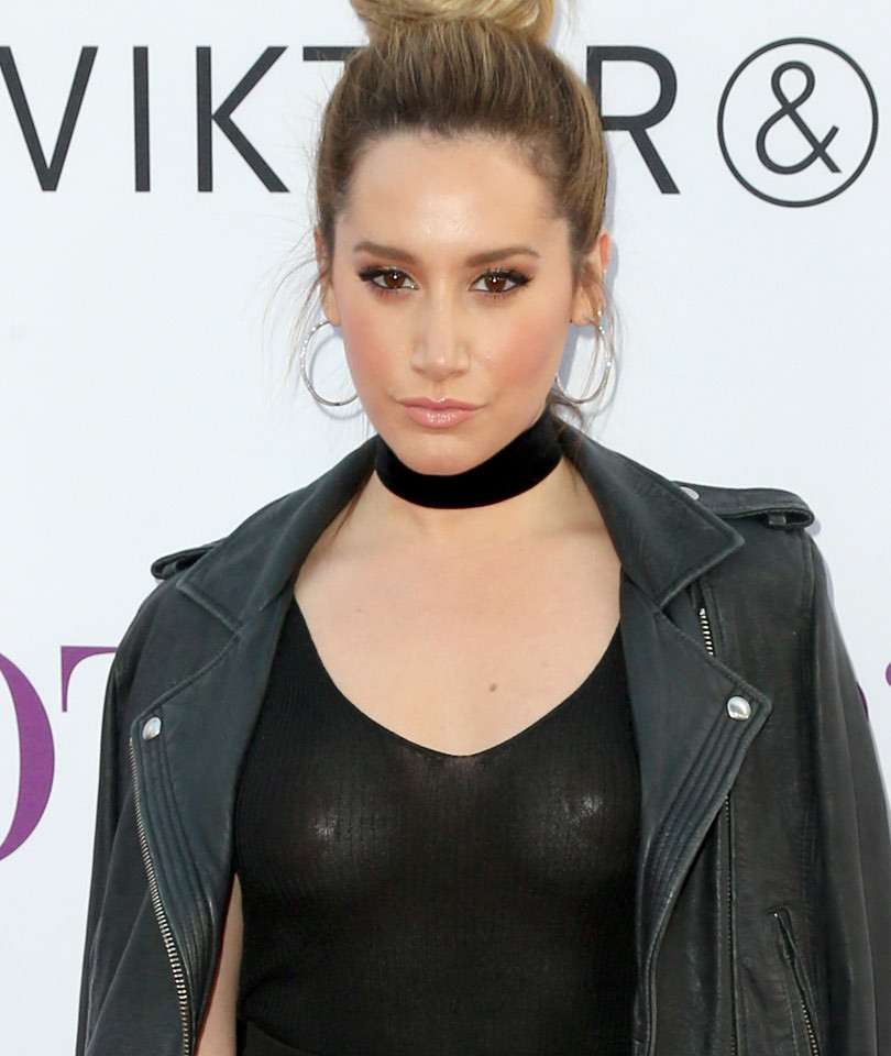 """Ashley Tisdale Flashes Her Nipple Pasties at """"Mother's Day"""" Premiere -- Plus,…"""