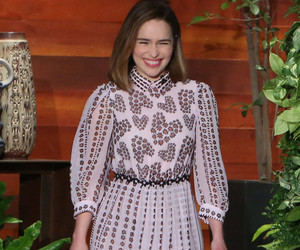 """Emilia Clarke Was """"Photoshopped and Drunk"""" When She Shot Esquire's """"Sexiest…"""