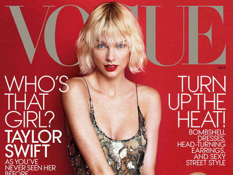 """Taylor Swift Talks """"Magical"""" Relationship In Vogue, Says She Was """"Slaughtered"""" for Past…"""