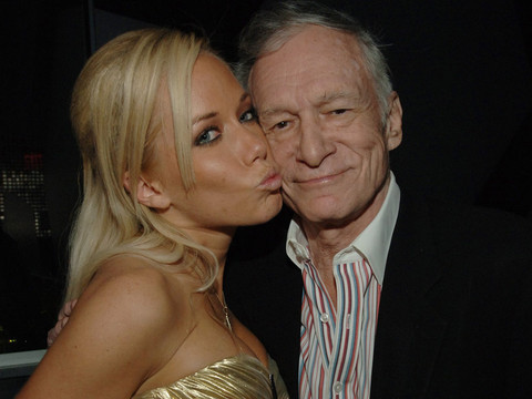 Wait Until You See the Sexy Gift Kendra Wilkinson Gave Hugh Hefner for His 90th Birthday