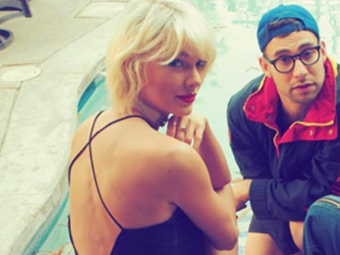 Taylor Swift & Her Squad Support Calvin Harris at Coachella -- See Her Get Wild…