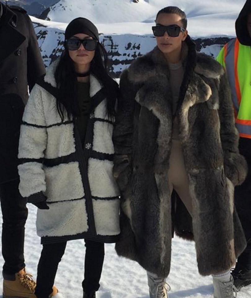 Kourtney Kardashian Celebrates 37th Birthday in Iceland With Kimye -- See ALL…