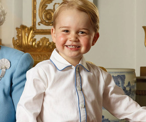 Prince George Steals the Show In New Royal Family Portrait -- He's Even Getting…