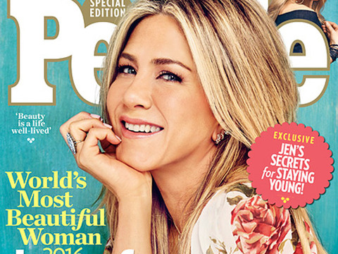 """Jennifer Aniston Is People's """"World's Most Beautiful Woman"""" for 2016!"""