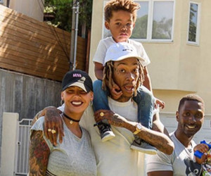 Amber Rose Hangs With Ex Wiz Khalifa and Their Adorable Son -- Bash Is SO Big…