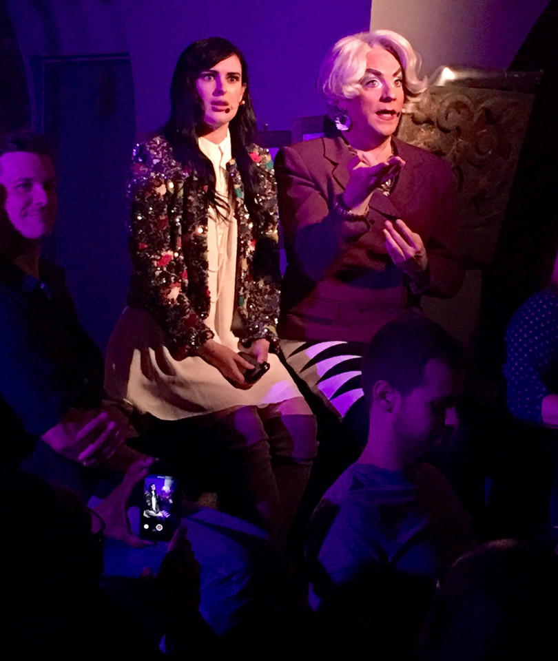 """Rumer Willis Kills It as Andy in """"The Unauthorized Musical Parody of The Devil…"""