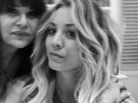 Kaley cuoco cant stop gushing about boyfriend karl cook after kaley cuoco debuts dramatic do ditches short hair for long extensions pmusecretfo Gallery