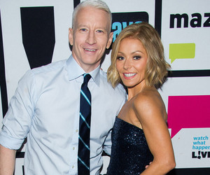 "Anderson Cooper: It ""Would Be a Dream"" to Work With Kelly Ripa"