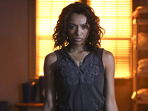 """Kat Graham: """"Vampire Diaries"""" Cast Really Busted Their Butt for Final Three Episodes of…"""