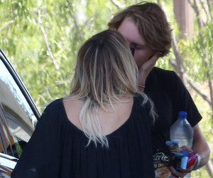 It's Official: Kaley Cuoco Spotted Kissing Rumored Beau Karl Cook!