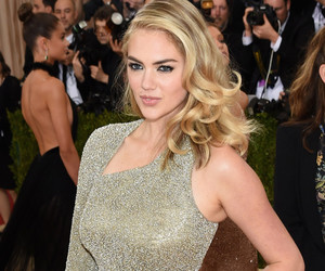 Kate Upton Shows Off New Engagement Ring at the 2016 Met Gala -- Look At That…