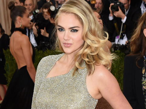 Kate Upton Shows Off New Engagement Ring at the 2016 Met Gala -- Look At That Bling!