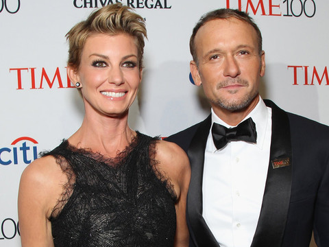 Faith Hill Shares The Sweetest Birthday Wish For Tim McGraw From His Girls!