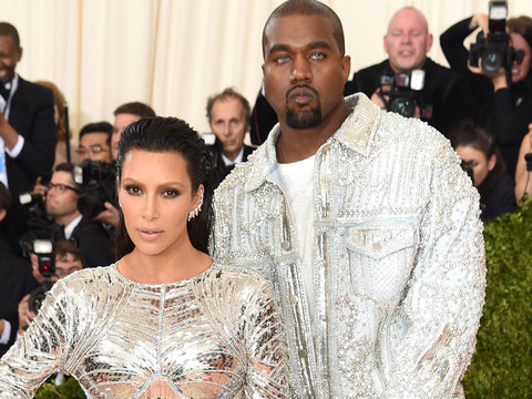 Kanye West's New Music Video Is Full Of His Favorite Things: Kim & Balmain!