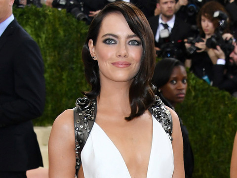 Emma Stone Joins the Dark Side at the Met Gala -- Is This Look Fab or Drab?