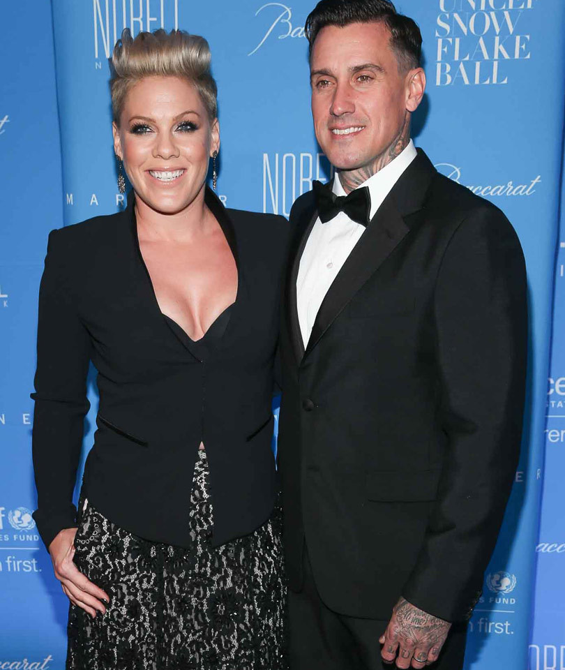 "P!nk Says She and Carey Hart Are ""Due"" for Third Break In 10 Years"