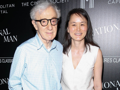 Woody Allen Awkwardly Talks Soon-Yi & Ex Mia Farrow -- Ronan Farrow Claps Back!