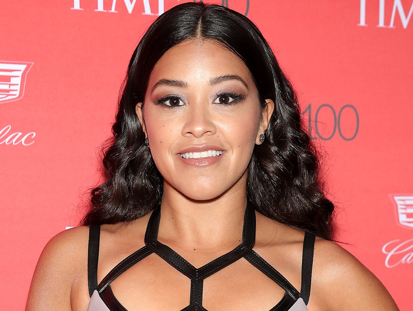 Gina Rodriguez Chopped Off Her Hair and Shaved the Sides of Her Head -- See Her…