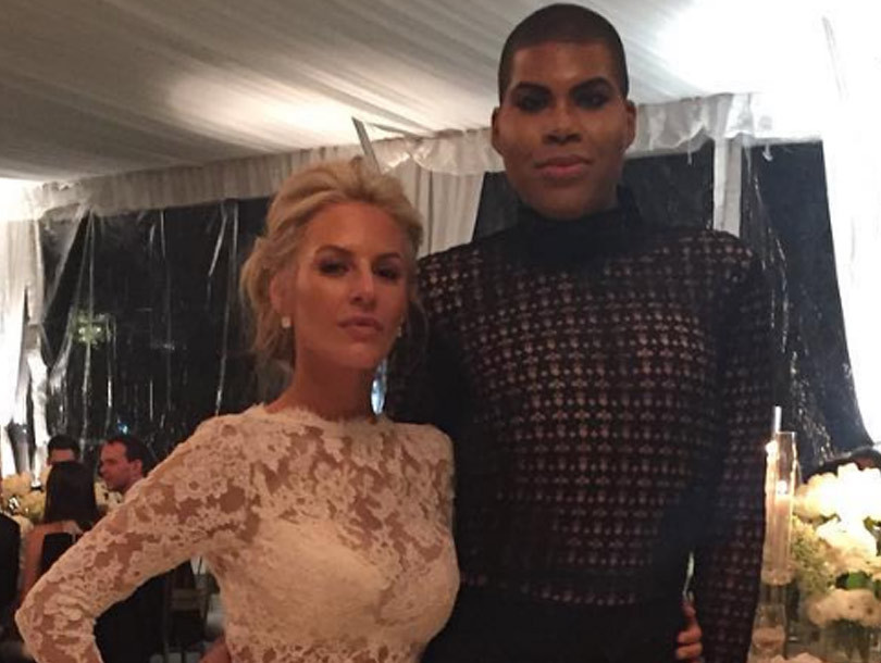 EJ Johnson& Kim Kardashian Rock Similar Sheer Look -- Who Wins This Fashion…
