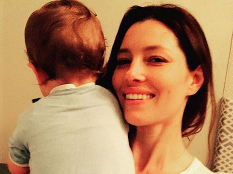 Justin Timberlake Shares Rare Pic of Son Silas -- As He Calls Biel a MILF on Mother's Day!