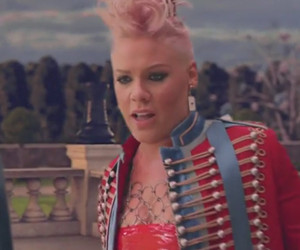 "P!nk Debuts Music Video For ""Just Like Fire"" -- See Carey Hart & Daughter…"