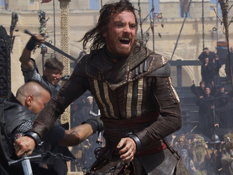 "Michael Fassbender Brings Video Game to Life In First Trailer for ""Assassins…"