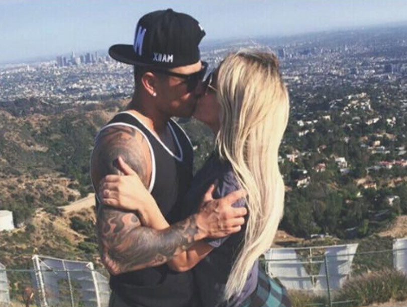 Back On! Aubrey O'Day and Pauly D Squash Breakup Rumors With Sexy Bedroom Pics