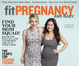 """Bachelor"" Babies! Ali Fedotowsky & Catherine Lowe Show Off Matching Bumps…"