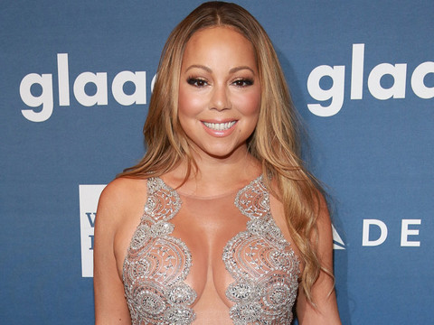Mariah Carey Shows Major Sex Appeal at the 27th Annual GLAAD Media Awards