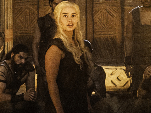 "Emilia Clarke on Dany's Fiery ""Game of Thrones"" Nude Scene: ""That Ain't No Body Double!"""