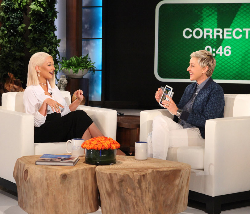 Christina Aguilera Nails Her Impressions of Whitney, Rihanna, Adele, Beyonce, & More!