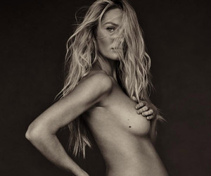 Candice Swanepoel Shows Off Bare Baby Bump, Reveals the Sex of Her Baby!