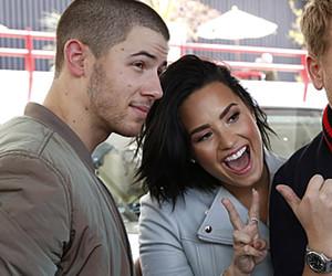 "Demi Lovato & James Corden Grill Nick Jonas About Dating During ""Carpool Karaoke"""
