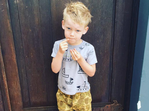 """Hilary Duff Shares Adorable Photo of Son Luca All """"Ready for School"""" & More Cute…"""