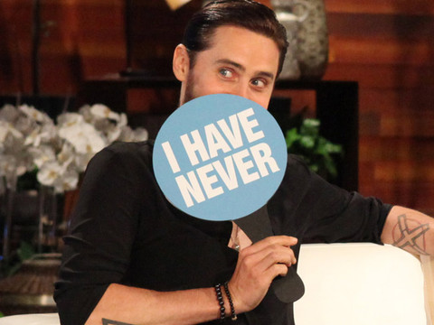 "Jared Leto & Drake Play ""Never Have I Ever"" -- Who Sent a Dirty Text to the Wrong…"