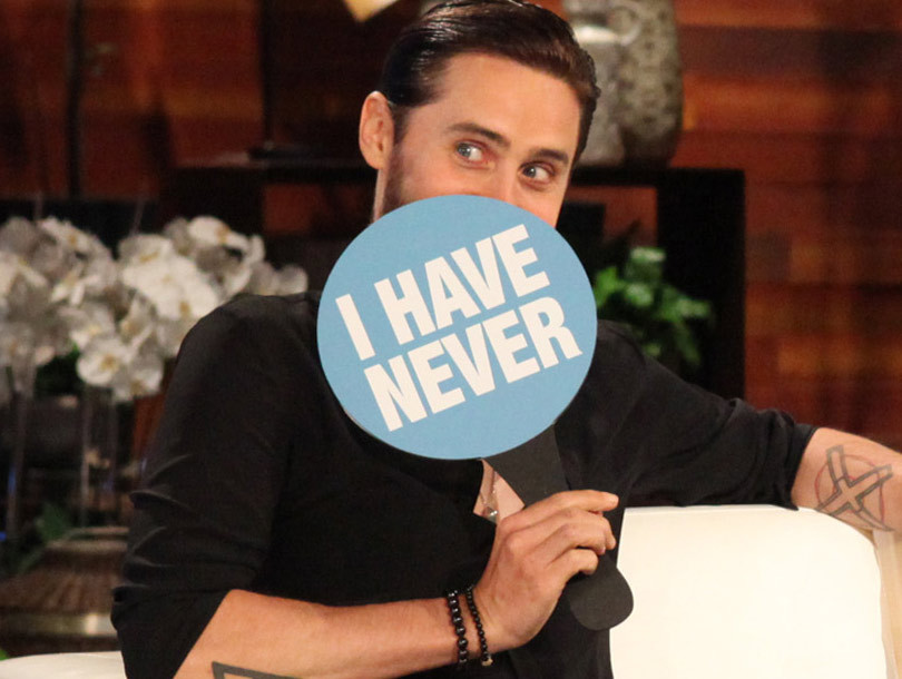 """Jared Leto & Drake Play """"Never Have I Ever"""" -- Who Sent a Dirty Text to the…"""