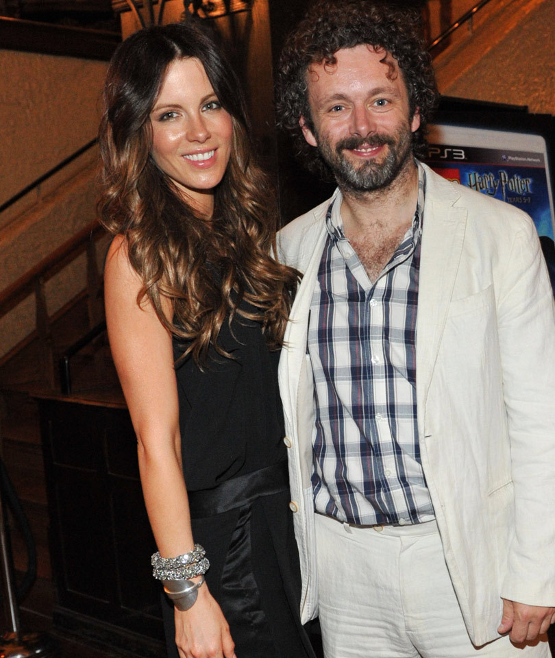 Not Awkward?! Kate Beckinsale Recreates Birth Photo With Ex Michael Sheen and…