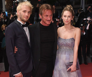 "Sean Penn Brings Kids Hopper & Dylan to ""The Last Face"" Premiere at Cannes"