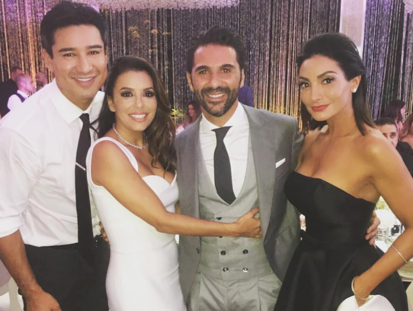 Eva Longoria Marries Jose Antonio Baston In Mexico -- See Stunning Dress!