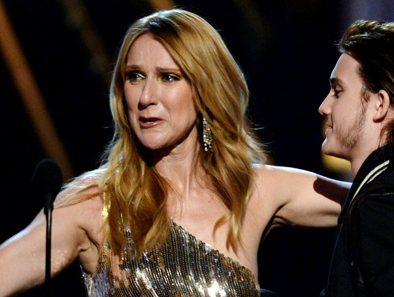 Celine Dion Gets Emotional After Son Surprises Her on Stage at Billboard Music…