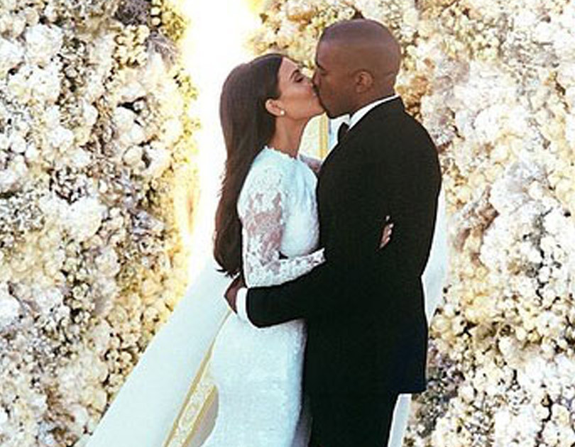Kim Kardashian Shares Special Wedding Day Pics To Celebrate Second Anniversary With Kanye West Toofab