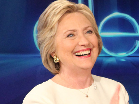 """Hillary Clinton Plays """"Who Would You Rather"""" With Ellen DeGeneres ... with a Twist!"""