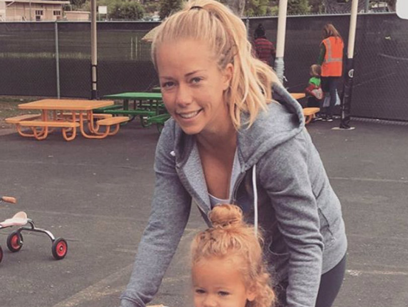 Kendra Wilkinson Brings Mini-Me Alijah to Her First Day of Pre-School -- She's…