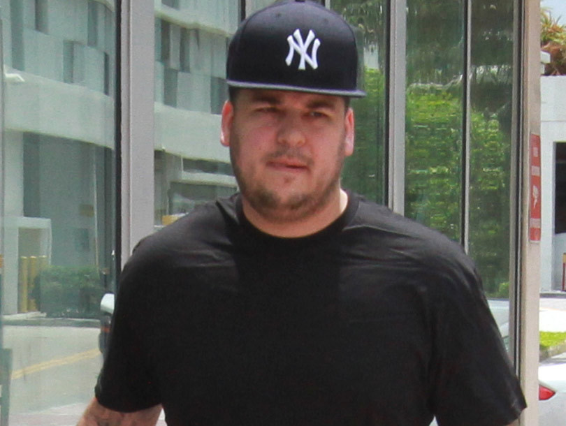 """Rob Kardashian Thrilled with Weight Loss -- But Says He's Still """"Got a Lot of…"""